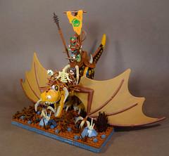 Horde Faction Lord: Gutzgrik the Wyvern Breaker.