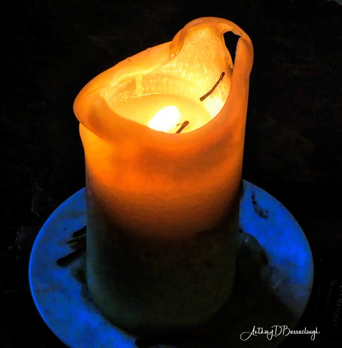 Candle, Candle Burning Bright-1..905opc