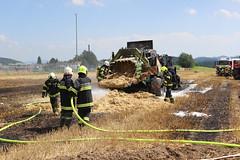 Brand Traktor & Ballenpresse 15.08 (16)