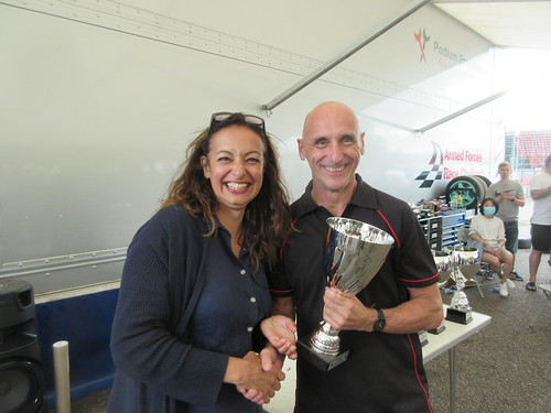 Graham Seager enjoyed a good day at Brands
