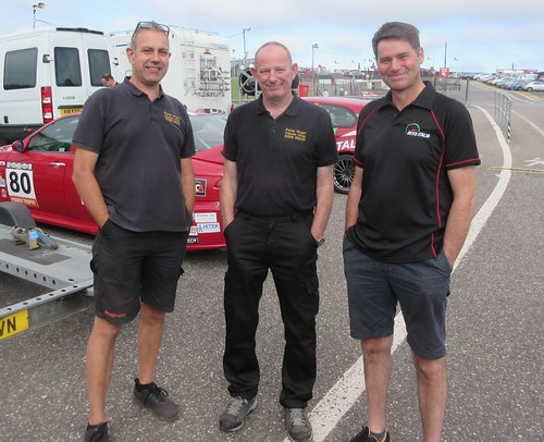 Roger Evans with Ian Brookfield and Peter Smart