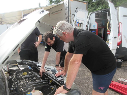 Paul Plant and Barry McMahon discuss the engine options for the Giulietta