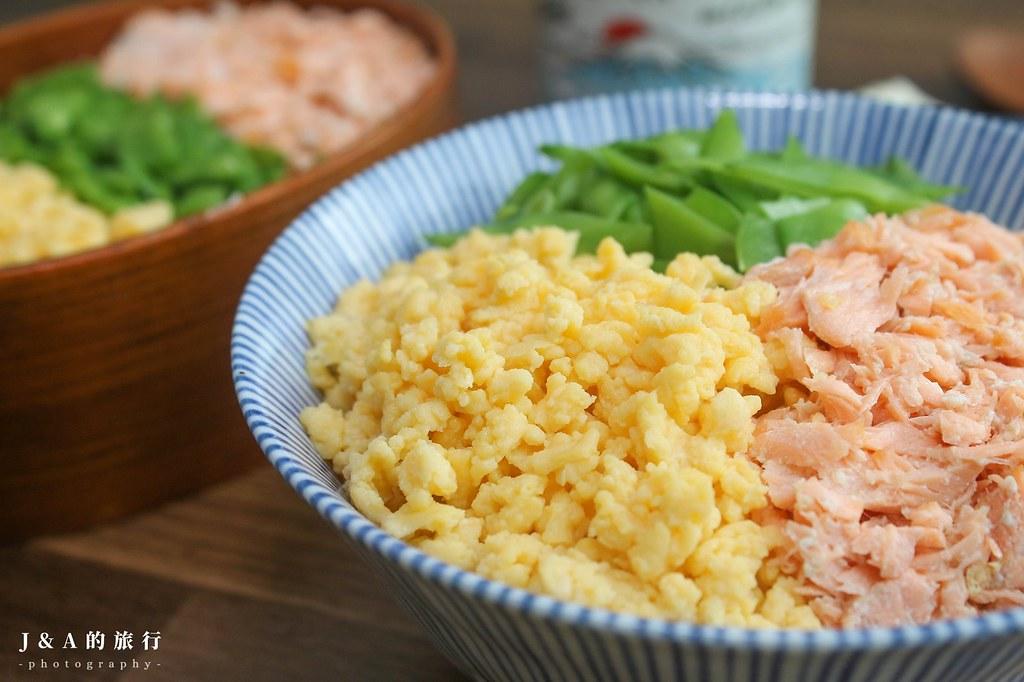 【食譜】日式雞蛋鬆。三色丼必備的鬆軟蛋鬆做法 @J&A的旅行