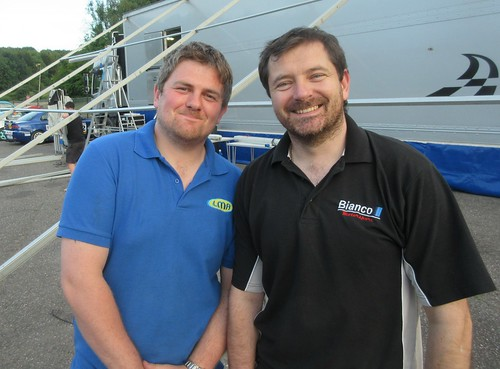 Happy racing brothers Tom Herbert and Paul Plant