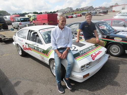 Rob Kirby and Harri Kirby bring John West GTV6 back to life