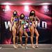 Bikini Masters 35+ 2nd Christine Harrison 1st Mymuna Nasrin 3rd Karen Barr