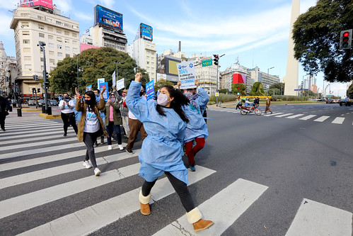VOW: Argentina Pfizer Protest