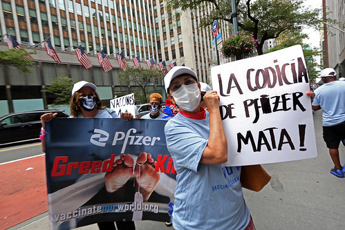 VOW: NYC Pfizer Protest