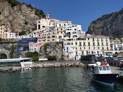 Le tipiche abitazioni di Amalfi