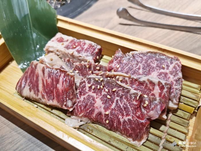 【新北永和】本格和牛燒肉放題 橫膈膜 厚切牛舌 超優秀鳥松阪 @魚樂分享誌