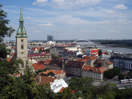Bratislava from the Castle Area, 11th August 2006