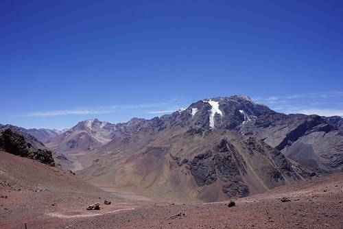 Looking at Aconcagua