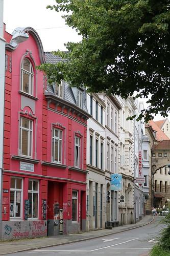 Bremen: Haus der Naturfreunde-Jugend in der Buchtstraße