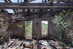 Abandoned stores (interior), Marathon, Texas