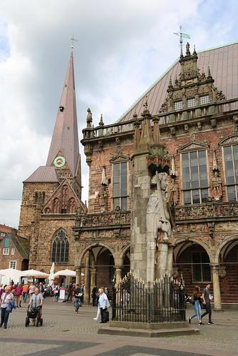 Bremen: Roland und Altes Rathaus