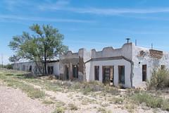 Abandoned stores (exterior), Marathon, Texas