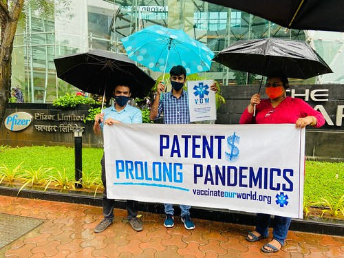Vaccinate Our World (VOW): Mumbai, India Pfizer Protest