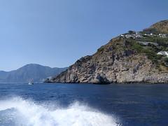 La Costiera amalfitana nel tratto tra Amalfi e Positano