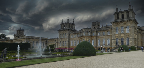 Blenheim Palace with Photoshop weather!!