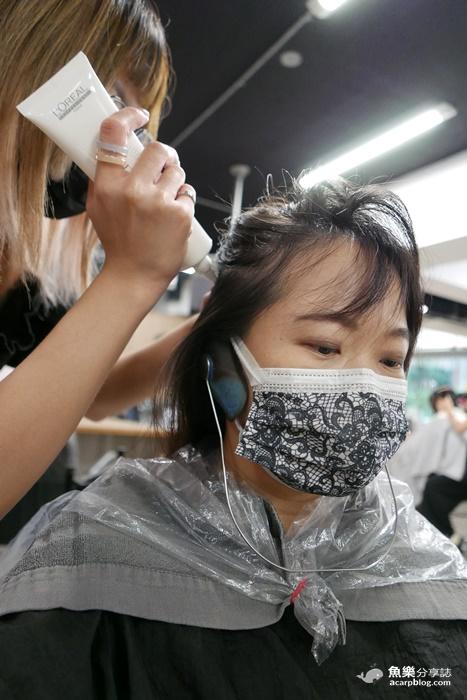 【台北萬華】好好Hair Salon 西門盯燙髮染髮護髮 2021流行款小心機耳圈染 @魚樂分享誌
