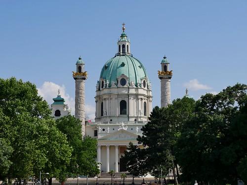 Wien, Karlskirche / Vienna, St. Charles Church