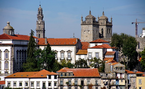 A view from Serra do Pilar