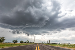 August 19, 2021 - A tornado-warned storm cell moves over Adams County. (Tony's Takes)