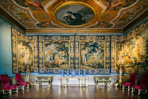 Château de Vaux le Vicomte : Intérieur iX