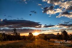 August 22, 2021 - Mountain meadow sunrise. (Tony's Takes)