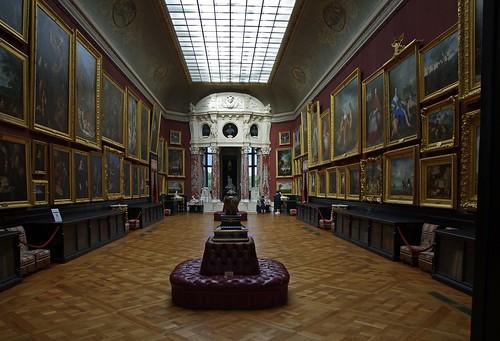 Galerie aux tableaux du Château de Chantilly