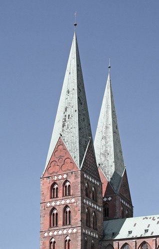 Lübeck - Kirche St. Marien
