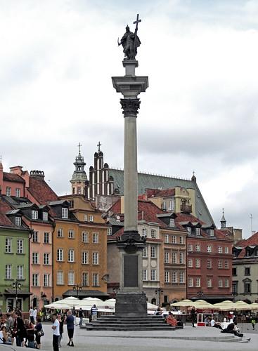 Warszawa - Kolumna Zygmunta III Wazy