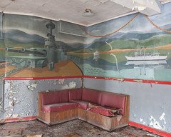 """Brodhead Naval Armory Murals, Detroit, MI • <a style=""""font-size:0.8em;"""" href=""""http://www.flickr.com/photos/25078342@N00/51402001710/"""" target=""""_blank"""">View on Flickr</a>"""