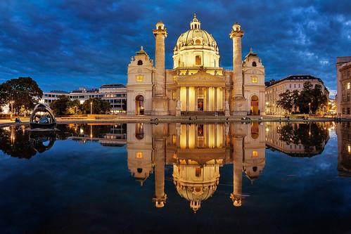 the Karlskirche in Vienna