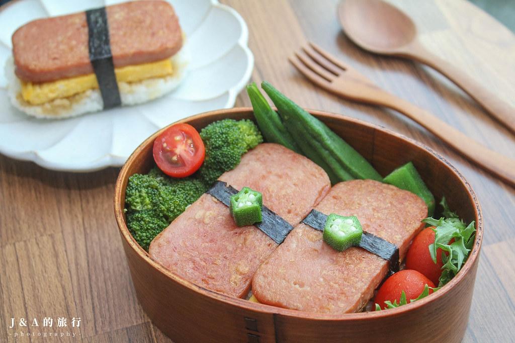 【食譜】夏威夷午餐肉飯糰。簡單的野餐料理食譜 @J&A的旅行