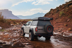 Revealed today at Overland Expo Mountain West, the GMC Canyon AT4 OVRLANDX concept elevates Canyon's capability while exploring GMC's vision for the nameplate's future. Designed for the premium overlanding enthusiast, the concept vehicle shows how Canyon