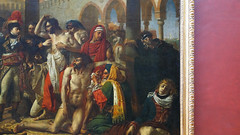 Gros, Napoleon in the Pesthouse at Jaffa (detail)