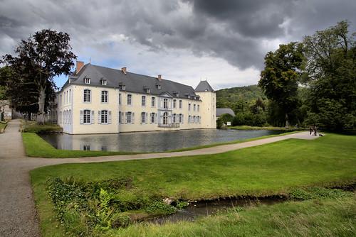 Le chateau d'Annevoie