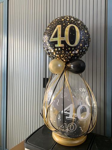 Cadeauballon Verjaardag 40 Jaar