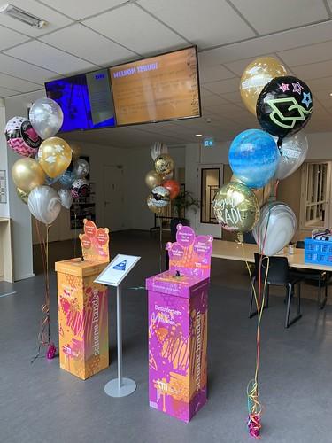 Ballonboeket Geslaagd Thomas More Hoge School Rotterdam
