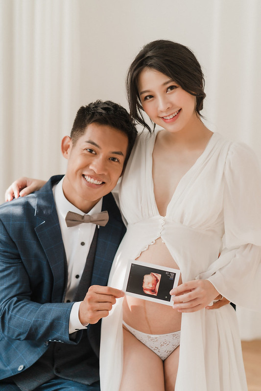 台北,孕婦寫真,韓系風格,自然,清新