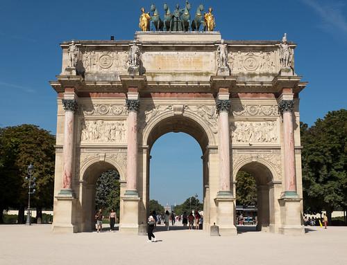 Arc de Triomphe du Carrousel - Tuileries, Paris