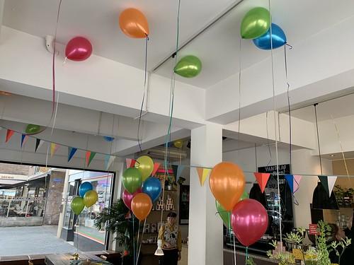 Heliumballonnen Coffeecompany De Meent Rotterdam