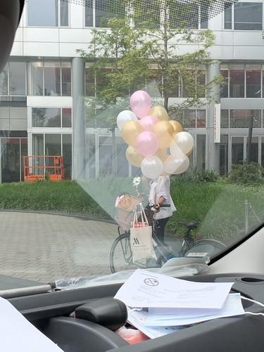 Heliumballonnen Mariott Hotel Rotterdam