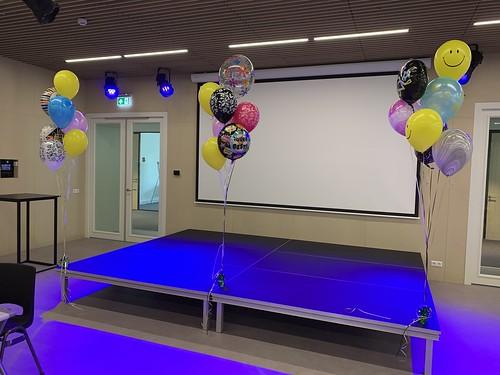 Ballonboeket Geslaagd Diplomering Thomas More Hoge School Rotterdam