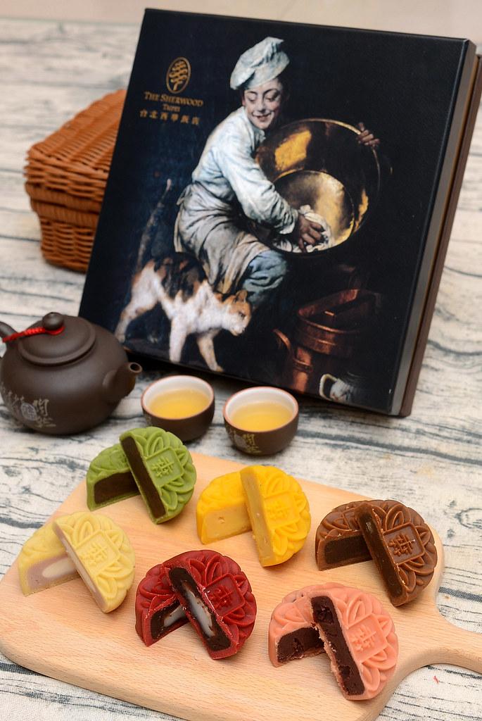 台北西華飯店2021月餅禮盒