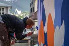 WOW - Walls of Women Tromsø har dedikert en vegg til Cora Sandel/Sara Fabricius.