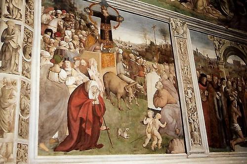 Lucca, Überführung des Volto Santo von Luni nach Lucca - Translation of the Volto Santo from Luni to Lucca