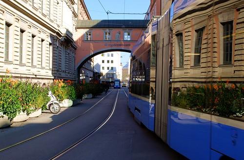 Munich - Tram Reflections