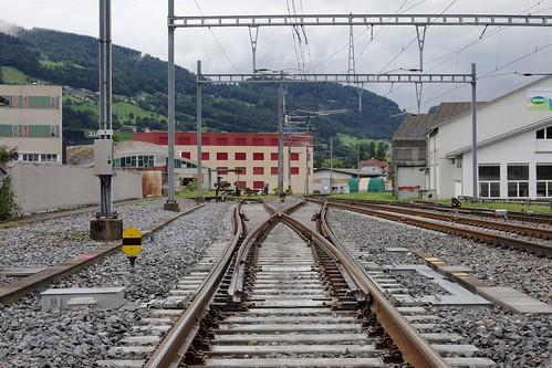 Altstätten SBB - Track One North